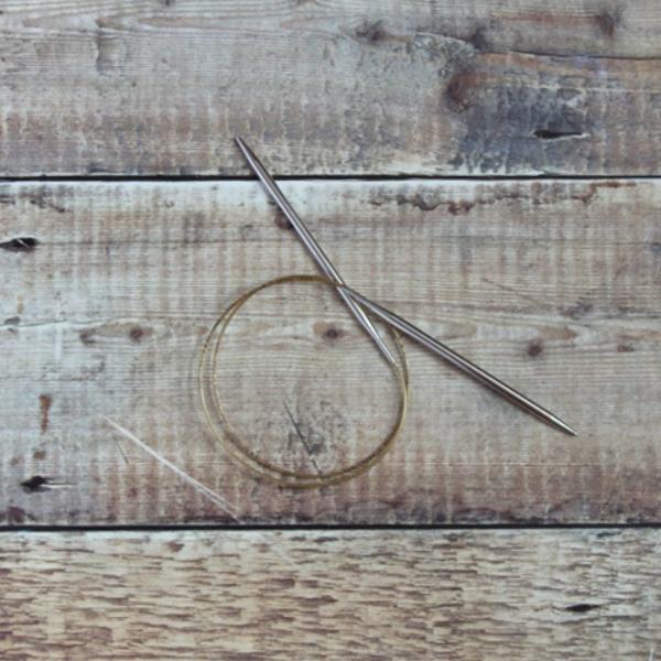 5.0 mm Addi circular knitting needle