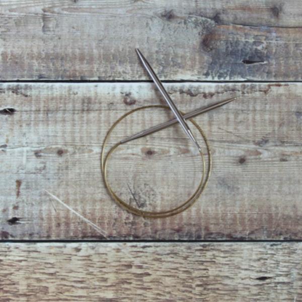 6 mm Addi circular knitting needle