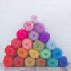 Shetland Spindrift yarn in many colours.