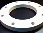 FLANGES- A flange connects pipes, valves, pumps and other equipment to form a piping system.