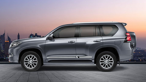 Design of the 2021 Toyota Land Cruiser Prado