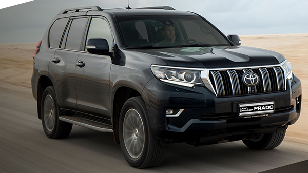 Performance of the 2021 Toyota Land Cruiser Prado