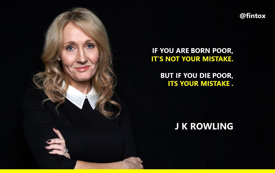 Finance gallery - J K Rowling