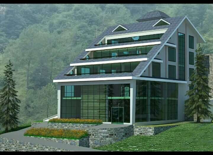 20 Biswa Commercial Map Approved  Plot for sale at Malyana shimla — Usable for Parking and Shoping Complex