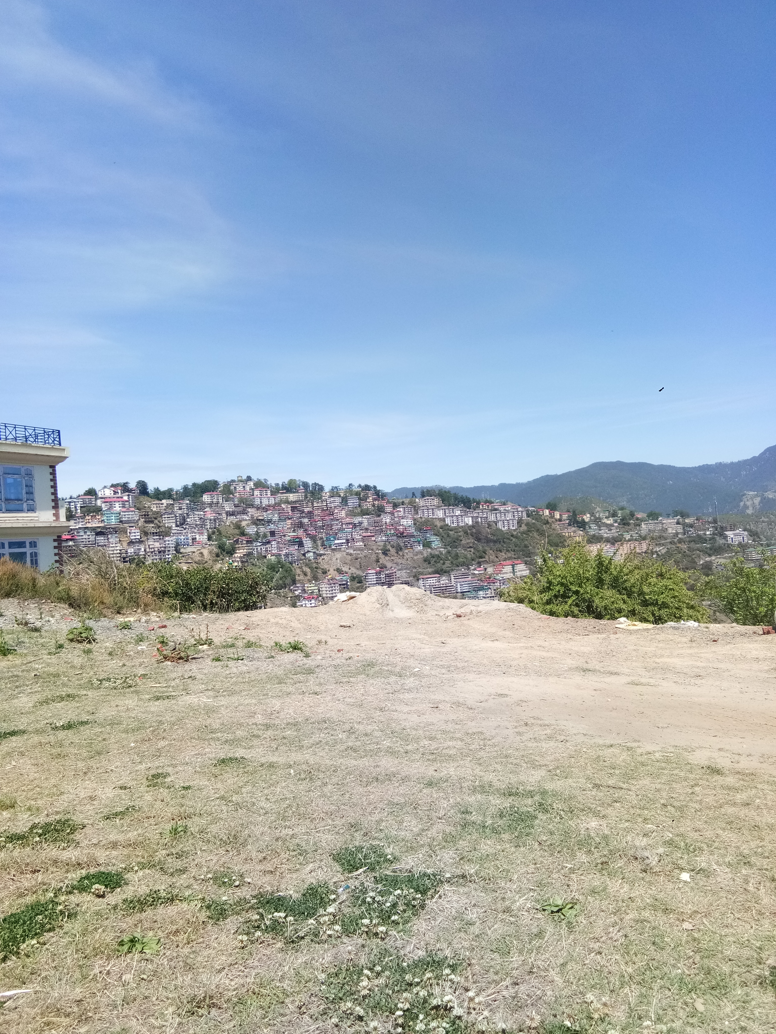 18 Biswa Plot For sale at Near IAS Colony Panthaghati Shimla —- Drive in — Flat Land —- Sunny and Beautiful View — Usable for Villas and Guest House — Price – 3 Cr