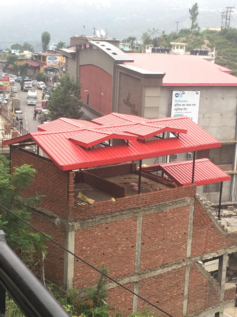 3 Story Commercial Structure For Sale — Location – Deoghat Solan — Plot Area – 3 Biswa —- Covered Area -2100 Sqf —-Usable For Shoping Complex ,Office and bank