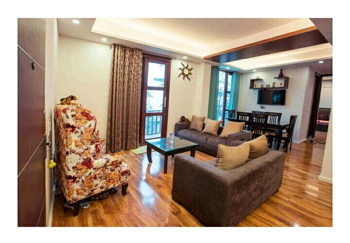 3 Bhk 1720 Sq Ft Fully Furnished flat for Sale at Bharari Shimla —- Drive in —– Only 3 Km From Mall Road Shimla — Close to Markit —- Close to School —- Close to bank —- Price – 1.35 Cr.