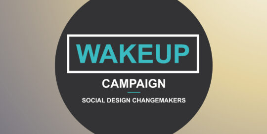 Wakeup Campaign logo design by Viviane Williams Consultancy