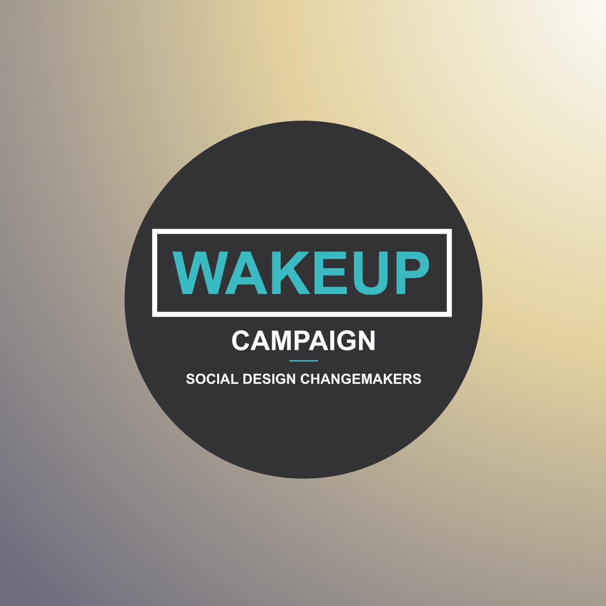 Wakeup Campaign logo design by Viviane Williams Consultancy