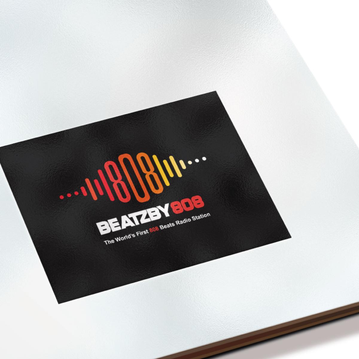 Logo design for Beatzby808 online radio station