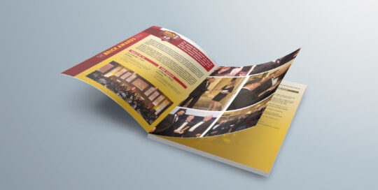 Brick awards 40th anniversary brochure