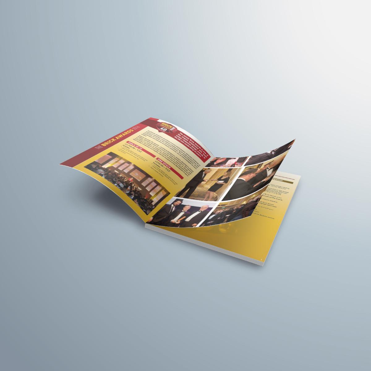 Brick awards 40th anniversary brochure