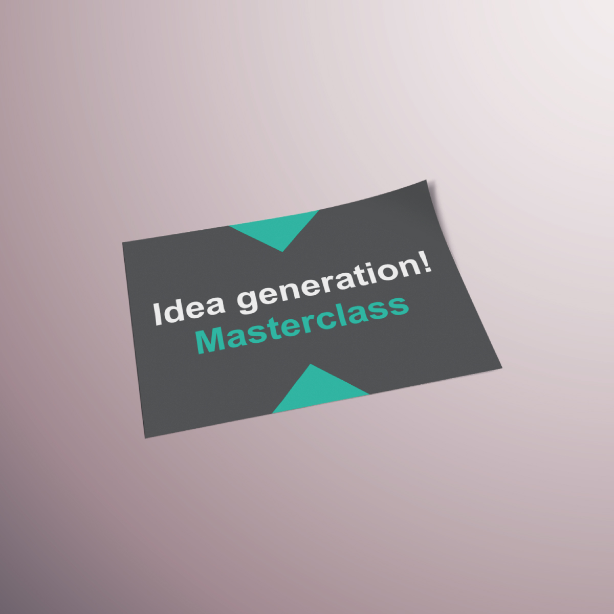Uca idea generation masterclass by viviane williams