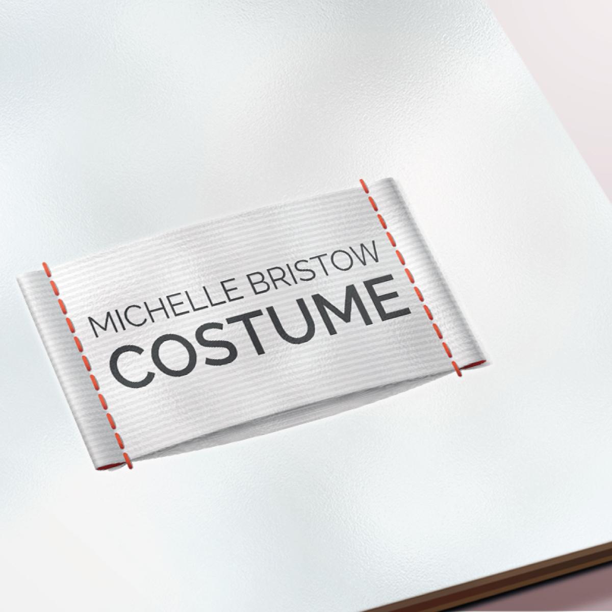 logo design for the costume design michelle bristow
