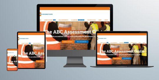 ABC Assessment Centre's Website