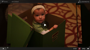 Xmas vid about my little girl