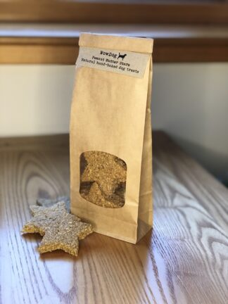 WowDog Peanut Butter Stars Dog Treats