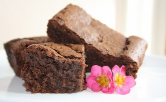 Decadent Gluten Free Chocolate Brownies