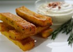 Gluten Free Rosemary Polenta Fries
