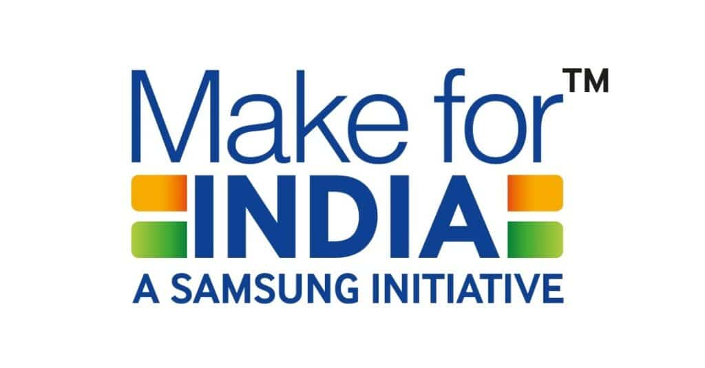 Samsung Make for India