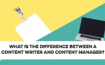 What's the difference between a content writer and a content manager?