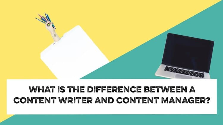 content writer and content manager