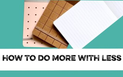 How to do more with less content