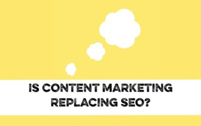 Is content marketing replacing SEO?