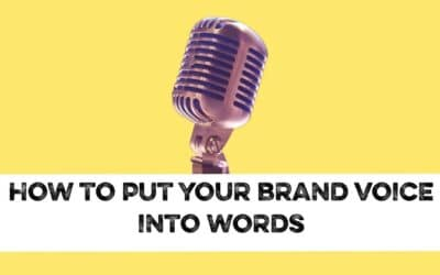 How to put your brand into words