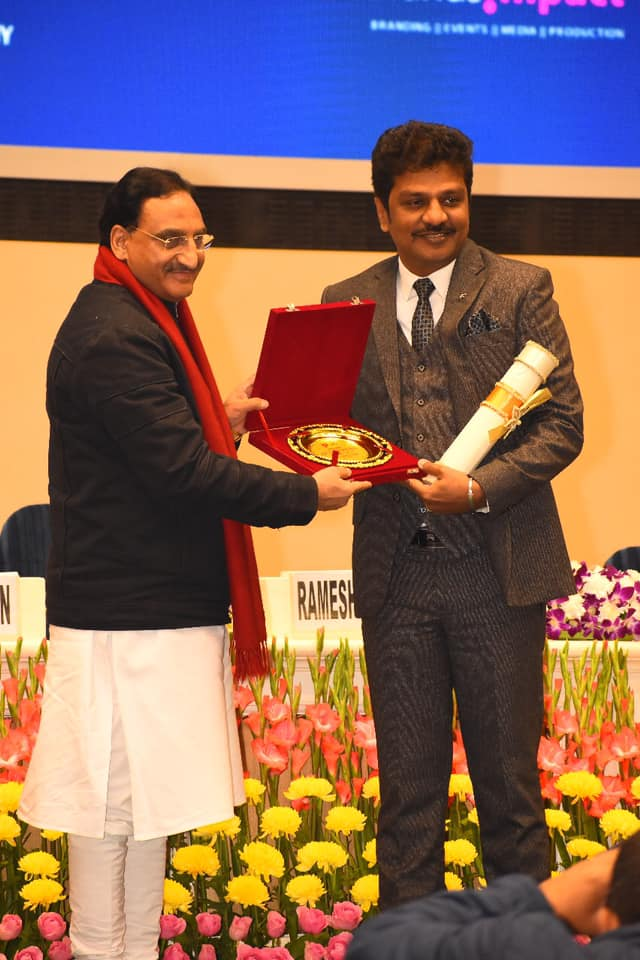 Suchirindia Dr. Y. KIRON Received India Achiever of the Year award