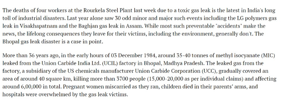 In Photos 36 Years after Bhopal Gas Tragedy, Families Still Struggle to Pick Up Threads of Life News18 SPRF