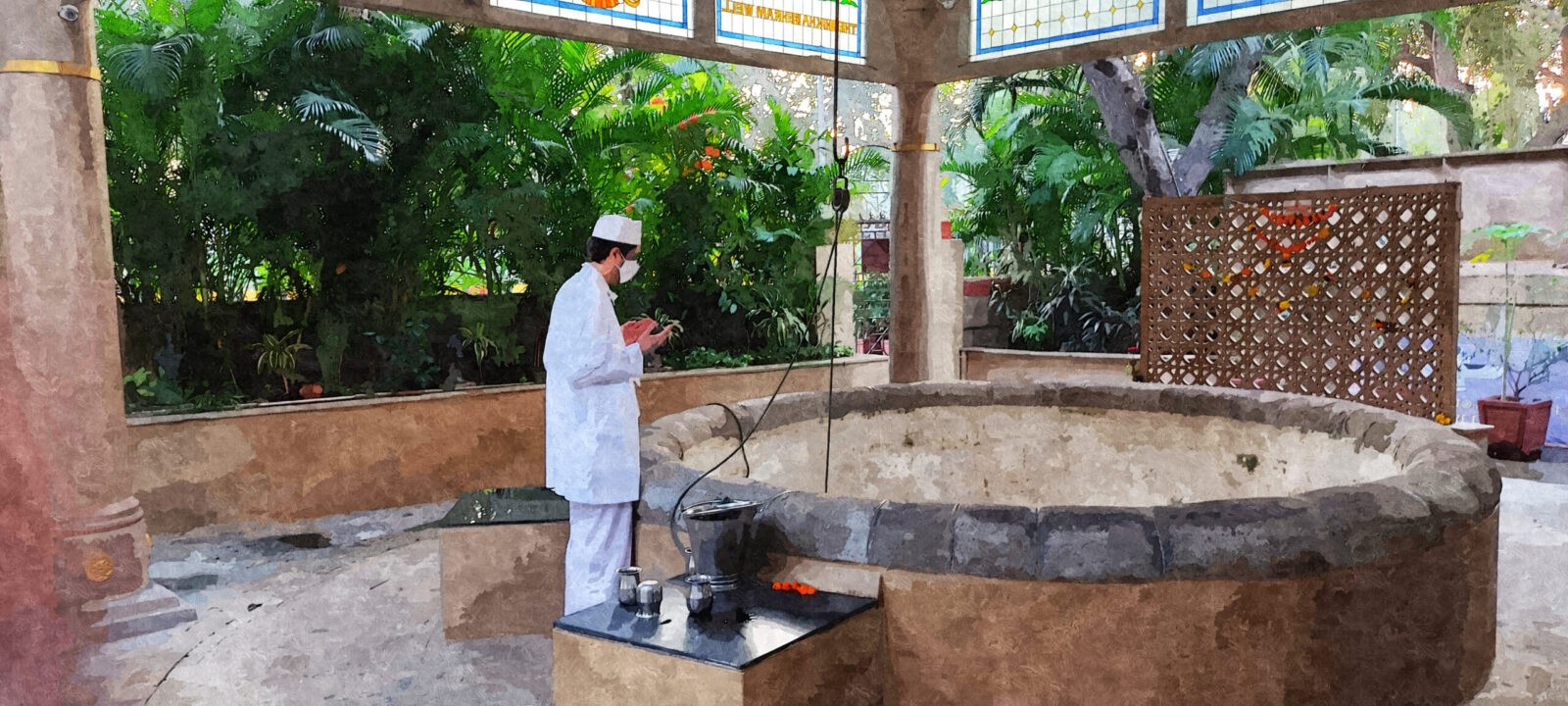 zoroastrian groundwater well parsi culture zoroastrianism