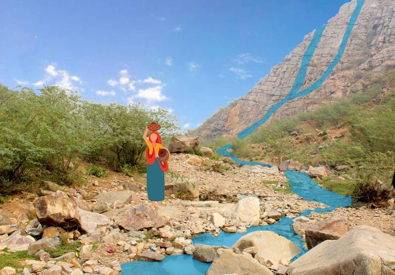 rajasthan river water scarcity perennial water yusra ansari