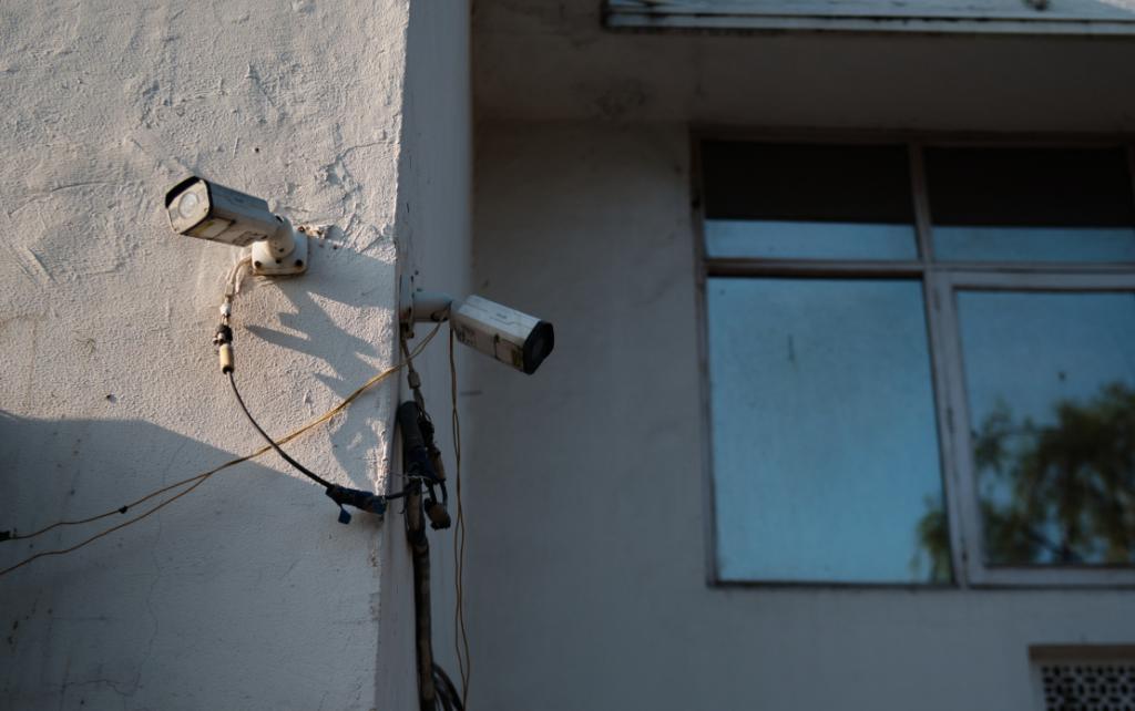 The Pervasive Gaze of CCTV Cameras in Delhi