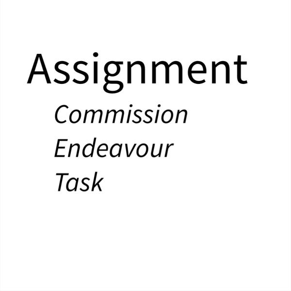 Work in Progress Portfolio – Assignment