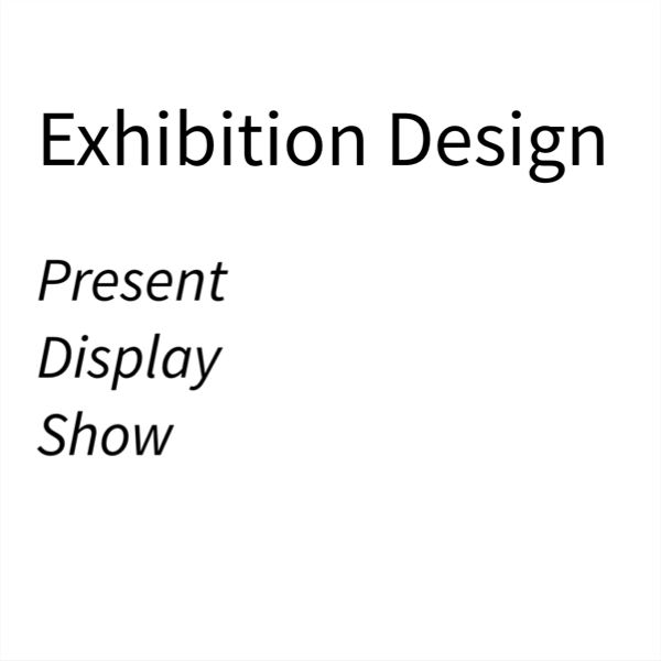 Exhibition Invitation – Design