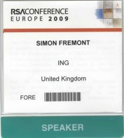 RSA 2009 Conference Europe – Future Regulation