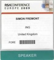 RSA 2009 Conference Europe – Future Regulation