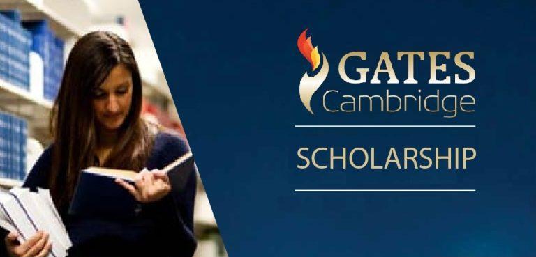 SCHOLARSHIP PROGRAMME- THE GATES CAMBRIDGE SCHOLARSHIP 2021