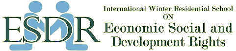 INTERNATIONAL WINTER RESIDENTIAL SCHOOL ON ECONOMIC SOCIAL AND DEVELOPMENT RIGHTS ON 28TH DECEMBER 2019 – 17TH JANUARY 2020