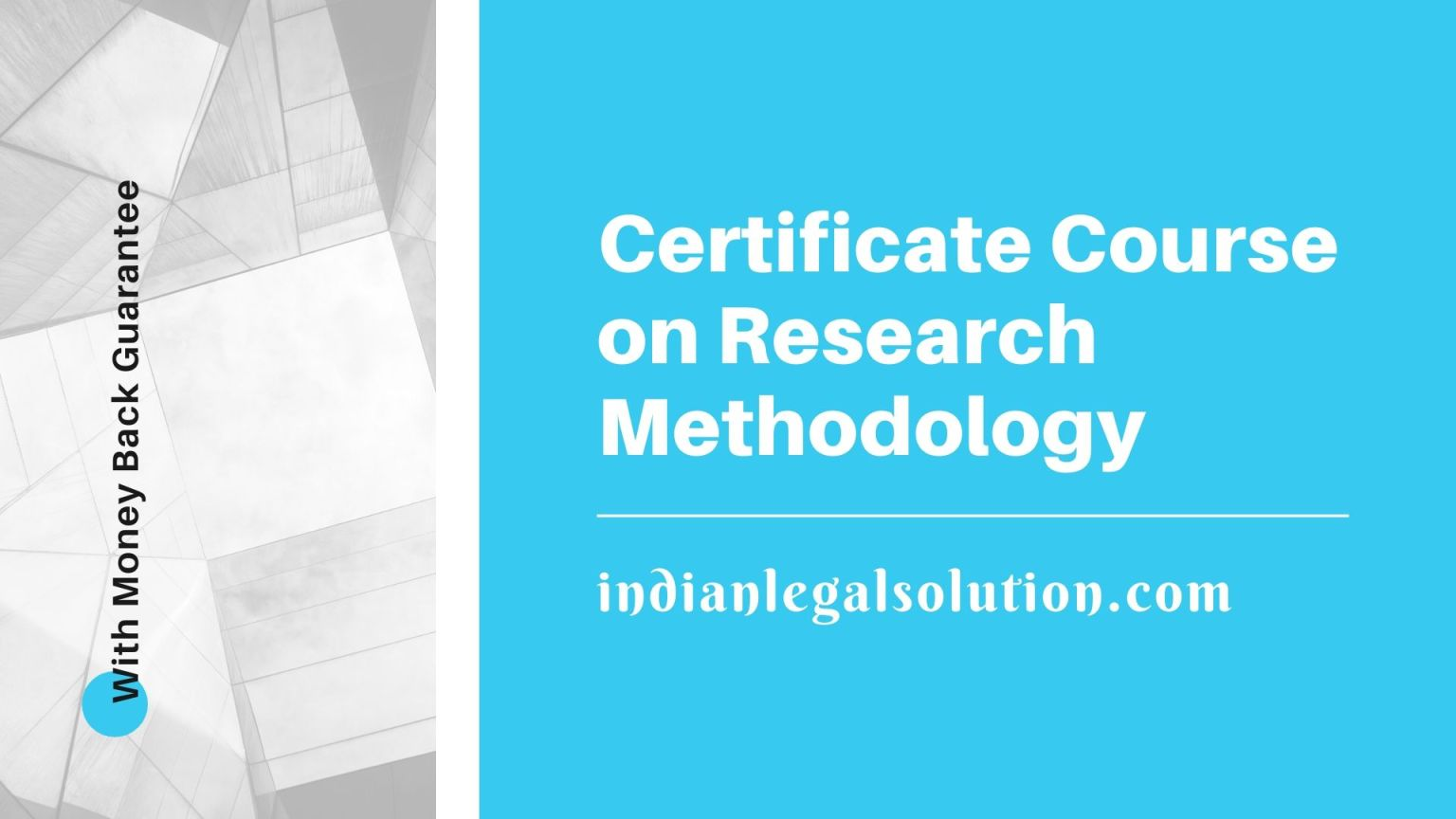 Certificate Course on Research Methodology, 12th batch by indianlegalsolution.com