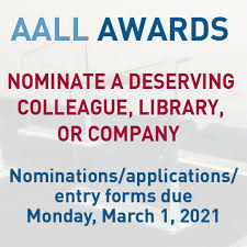 AALL/LEXISNEXIS CALL FOR PAPERS AWARDS