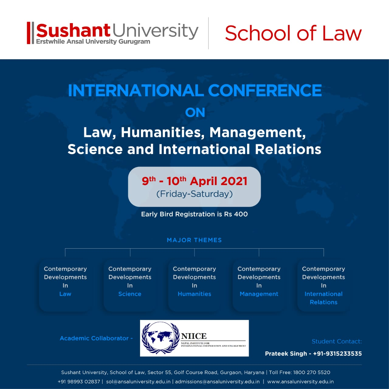 International Conference on Law, Humanities, Management, Science and International Relations
