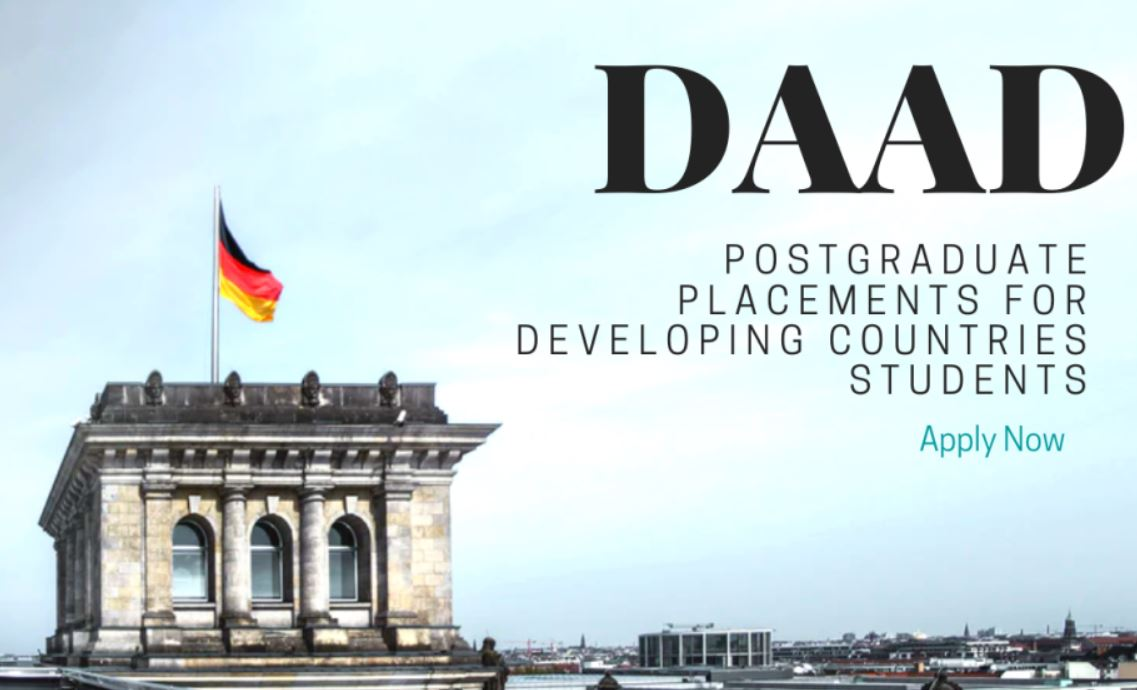 DAAD postgraduate placements for Developing Countries Students, 2021