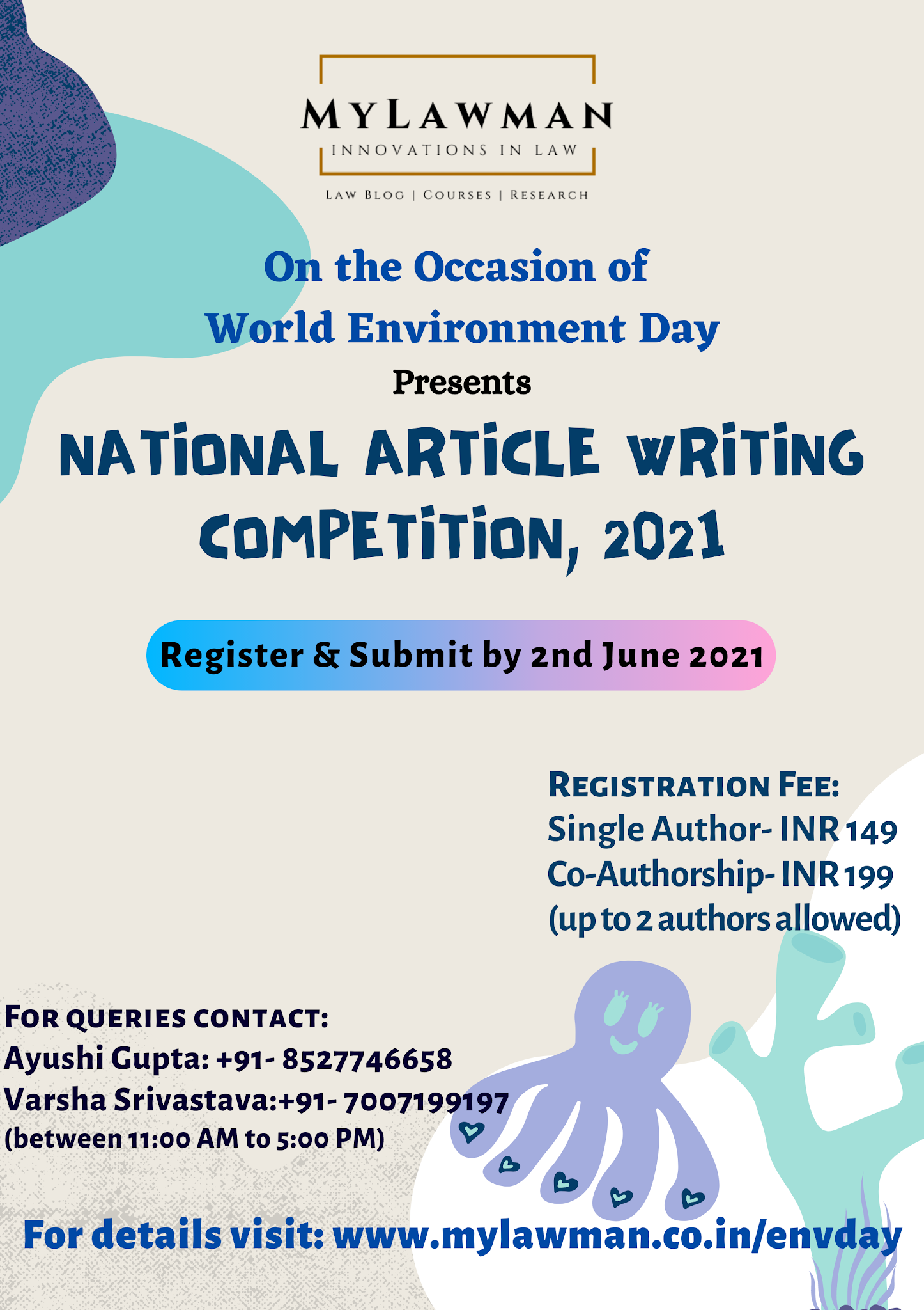 [Competition] National Article Writing Competition by MyLawman strong [Register by 2 June 2021]