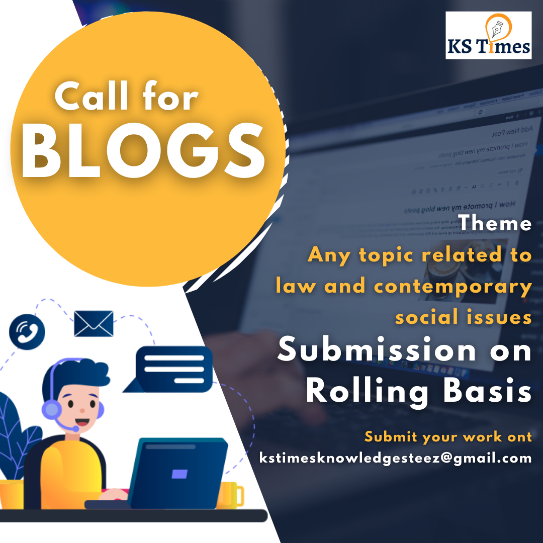 Call for blogs: KS TIMES