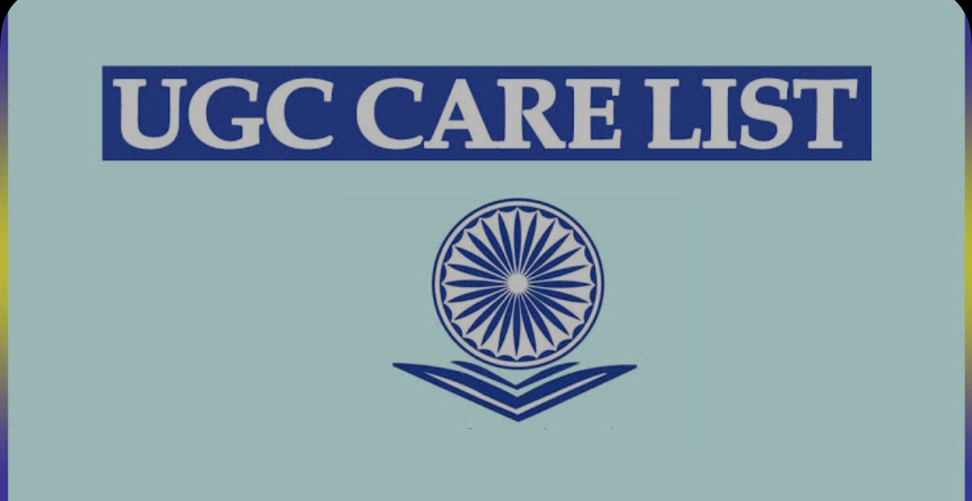 UGC Care Approved Journals 2021