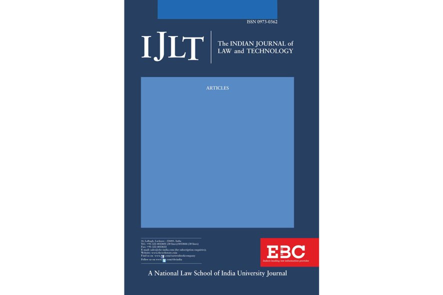 Call for Papers  NLSIU's Indian Journal of Law & Technology Special Issue on Fintech [Submit by February 28, 2022]