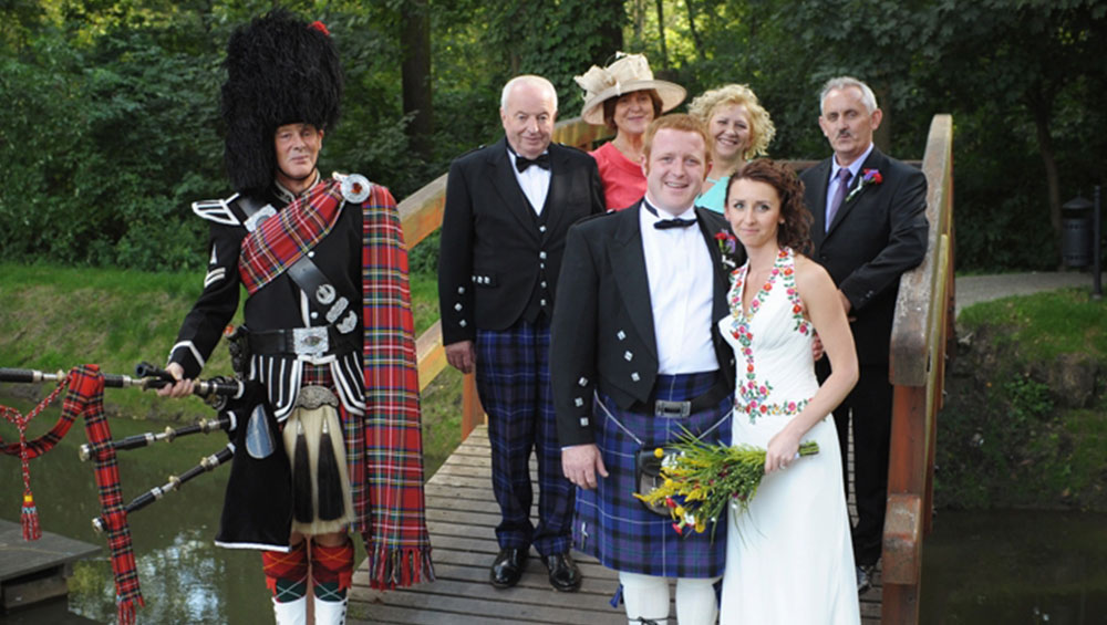 Hire a Piper band for your event