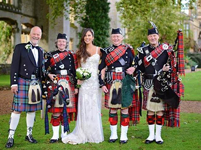 Piper Band for weddings